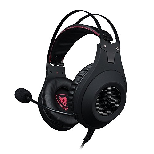 41U0aeJLJzL - NUBWO N2 PS4 Xbox One PC Headset Gaming, Stereo Gamer Headphones with Mic Headset Microphone Computer Playstation 4 Xbox 1 Games