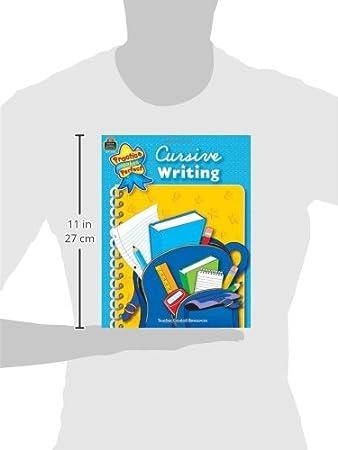 Amazon.com: Cursive Writing (Practice Makes Perfect) (9780743933315 ...