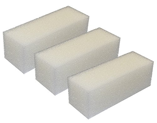 Zanyzap Replacement Foam Filters for AquaClear 110/500 A623 (3 Filters) ()