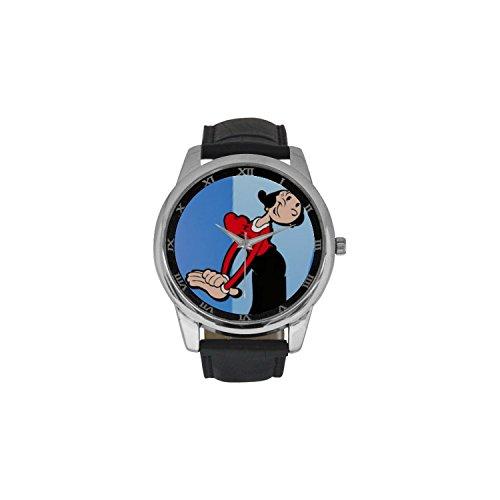 popeye-dbln2208c-men-wrist-watches-leather-strap-large-dial-watch