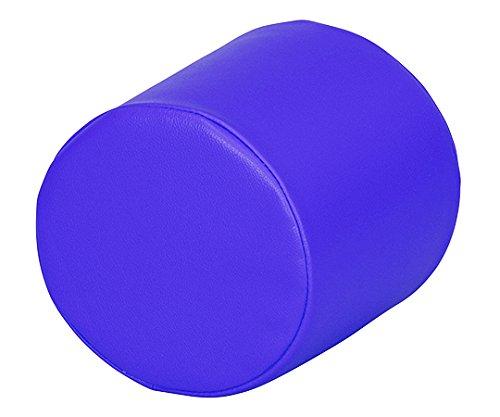 弘益7-3366-01キッズガーデンクッション丸ブルー B07BD2P6F1