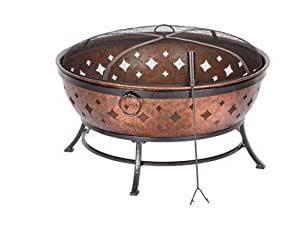 Noma fire pit by living accents mfrpartno l for Amazon prime fire pit