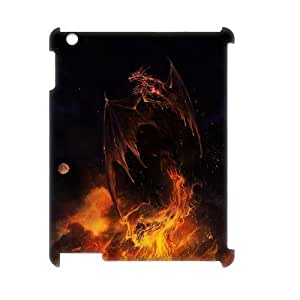 VNCASE Red Dragon Phone Case For IPad 2,3,4 [Pattern-1]