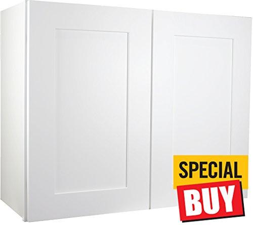 white 30 kitchen cabinets - 7