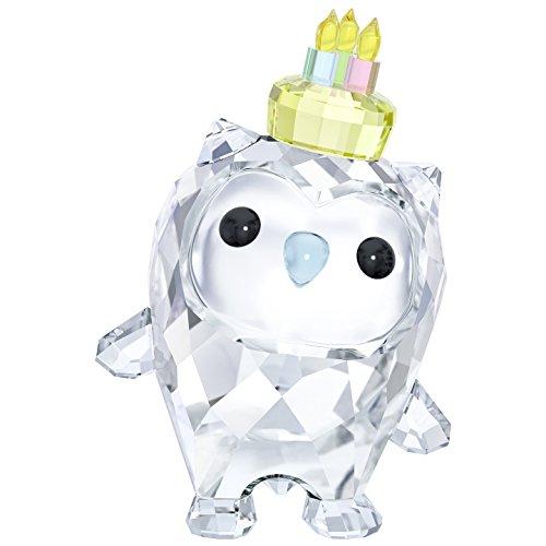 "Swarovski Crystal ""Hoot Happy Birthday "" Figurine New 2018"