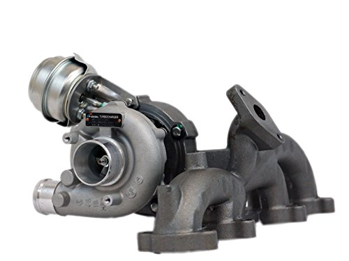 CF Power Turbocharger Volkswagen Beetle/ Golf/ Jetta 1.9 TDI for ALH engine; GT1749V Turbo (includes exhaust manifold & (Volkswagen Turbo Exhaust Gasket)