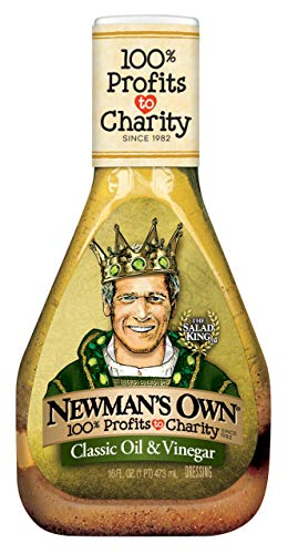 Newman's Own Classic Oil & Vinegar Salad Dressing, 16-oz. (Pack of 6)