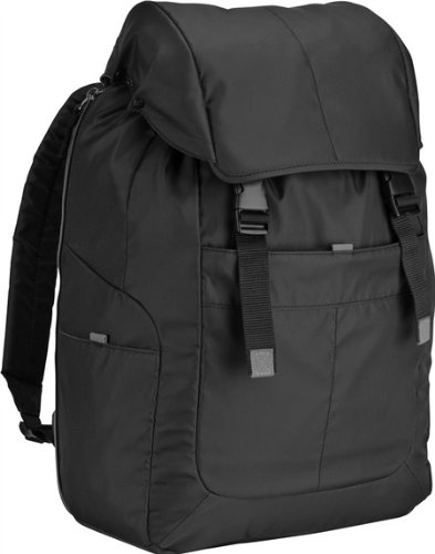Targus Bex Backpack for 16-Inch Laptops with Dedicated Tablet Compartment, Drawstring Closure and Hood (TSB792US-50)
