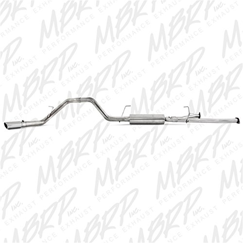 MBRP S5314409 T409-Stainless Steel Single Side Cat Back Exhaust System