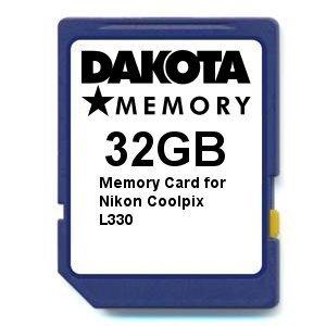 Tarjeta de Memoria de 32 GB para Nikon Coolpix L330.: Amazon ...