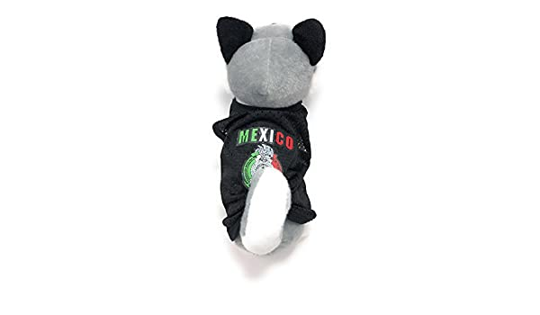 Amazon.com : Xell Dog Clothes Mexico World Soccer Pet Tank Jersey Puppy Summer Clothes for Small Dogs- Black ((USA SELLER)) (L) : Pet Supplies
