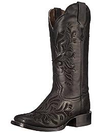 Stetson Women's Filigree Square Western Boot