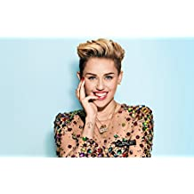 Remarkable Poster's Singer Miley Cyrus 12 x 18 Inch Poster Ultra HD Multicolour Unframed Rolled Print Great Wall Decor