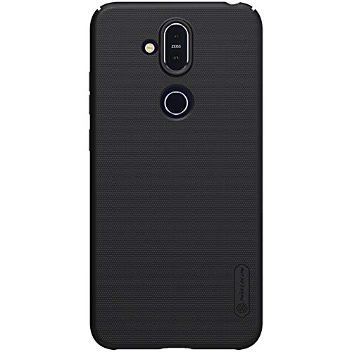 Nillkin Super Frosted Shield Hard Back Cover Case for Nokia 8.1   Black