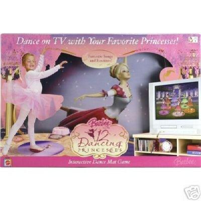 12 Dancing Dance Princesses - Barbie 12 Dancing Princesses Learn to Dance Mat Game
