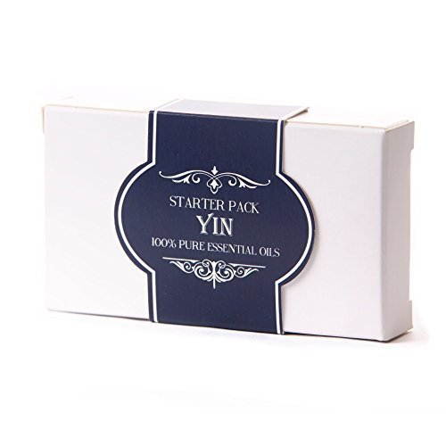 Mystic Moments | Essential Oil Starter Pack - Yin - 5 x 10ml - 100% Pure