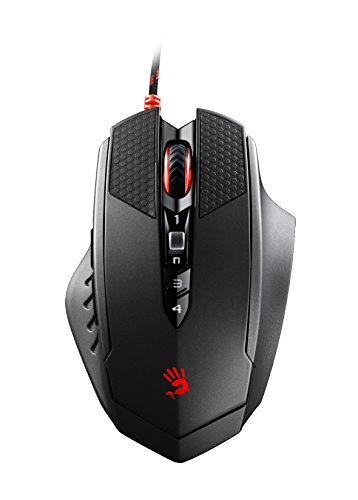 A4tech Optical Mouse (Bloody Optical Gaming Mouse with 8 Programmable Buttons and Advanced Macros (T70))