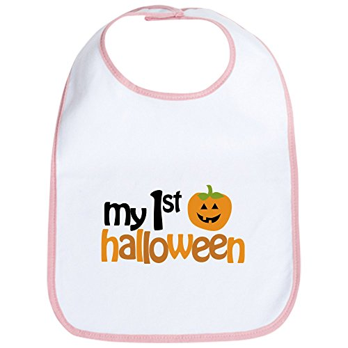 CafePress My 1st Halloween Bib Cute Cloth Baby Bib, Toddler ()