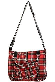 Malcolm Tartan Satchel Bag TB7005
