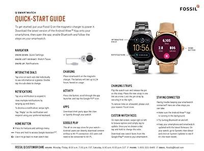 Fossil Women's Gen 3 Venture Stainless Steel Touchscreen Smartwatch by Fossil Q