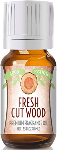 Fresh Cut Wood Scented Oil by Good Essential (Premium Grade Fragrance Oil) - Perfect for Aromatherapy, Soaps, Candles, Slime, Lotions, and More!