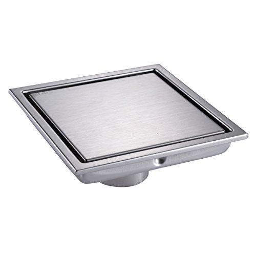 Square shower drain cover for 12 inch floor drain cover