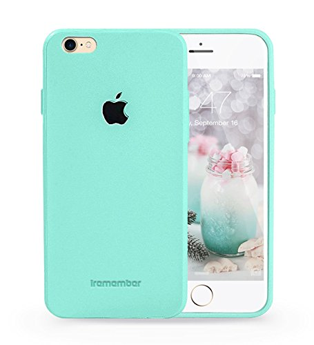 Logo Case Iphone 7 (mint) with glass screen protector