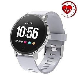 YoYoFit Edge Smart Watch, Heart Rate Monitor Fitness Tracker...