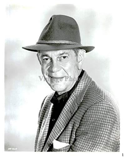Vintage Photos 1963 Photo Actor Raymond Massey Canadian American Academy Award Nominee 8X10