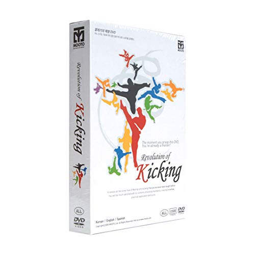 Price comparison product image Mooto Korea Taekwondo DVD Title Revolution of Kicking DVD MMA TKD Martial Arts Match Gym Academy Judo Karate
