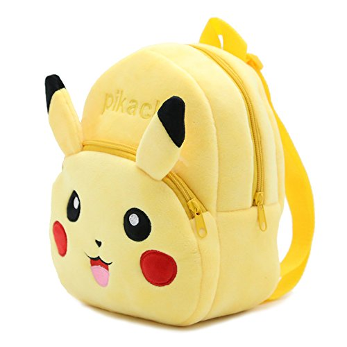 Laboo Pikachu Plush Backpack - Premium Quality - Pokemon Toddler Backpack - Cute Gift for Little Kids