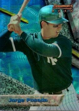 1994 Bowman's Best Refractor #29 Jorge Posada Baseball Rookie Card
