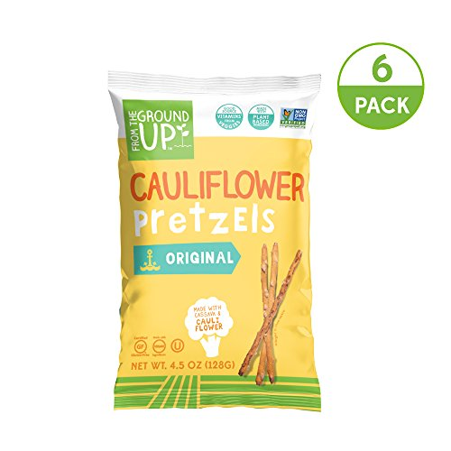 From the Ground Up Cauliflower Pretzels - 6 Pack (Sticks)
