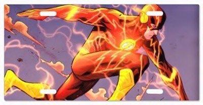 Custom The Flash DC Comics G5v7 Vanity License Plate