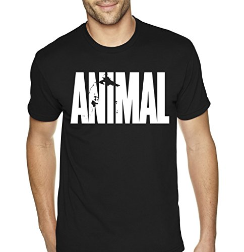 animal-beast-mens-bodybuilding-t-shirt-by-superior-apparel-x-large-black