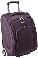 Beat the high cost of checked baggage with this 18 inch wheeled carry-on from Travelon. Small enough to fit beneath most airline seats or in the overhead compartment, it is roomy enough to carry clothes, a laptop and an iPador tablet computer...