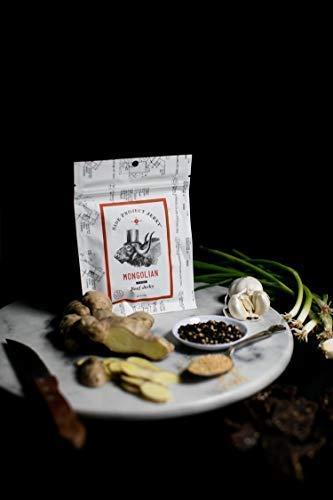 Side Project Jerky, Mongolian Flavor, 2 ounce (Jerky 2 Package Oz)