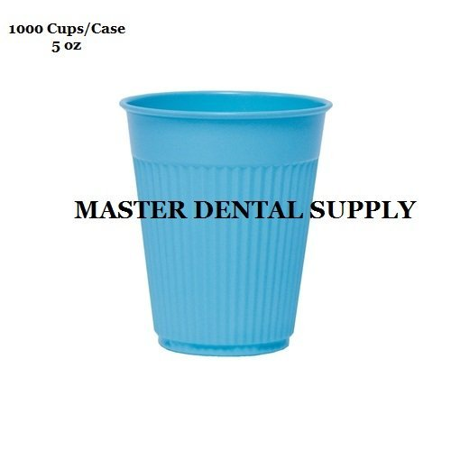 1000 Disposable Drinking Rinse Cups BLUE 5 oz Dental Medical Tattoo Spa by MDS (Image #1)