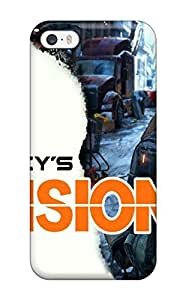 Iphone 5/5s Hard Back With Bumper Silicone Gel Tpu Case Cover The Division