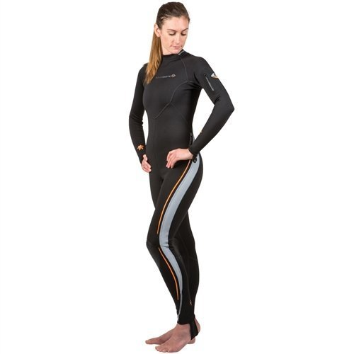 New Women's LavaCore BackZip Trilaminate Polytherm Full Jumpsuit (X-Large) for Extreme Watersports by Lavacore