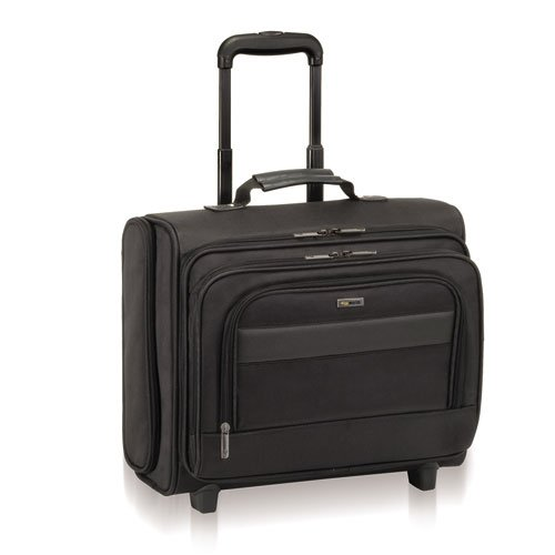 - Solo B644 Classic Rolling Overnighter Case, 15.6