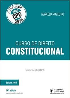 Curso de Direito Constitucional - 9788544203507 - Livros