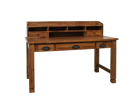 Sunny Designs Sedona Laptop Desk Hutch in Rustic Oak Review