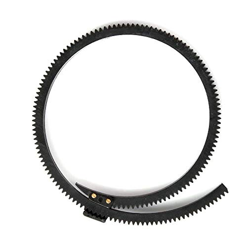 Fotga Flexible Gear Belt Ring for DP500 DP5002S DP500III JTZ DP30 Follow Focus FF Adjustable from 46mm to 110mm (Black)