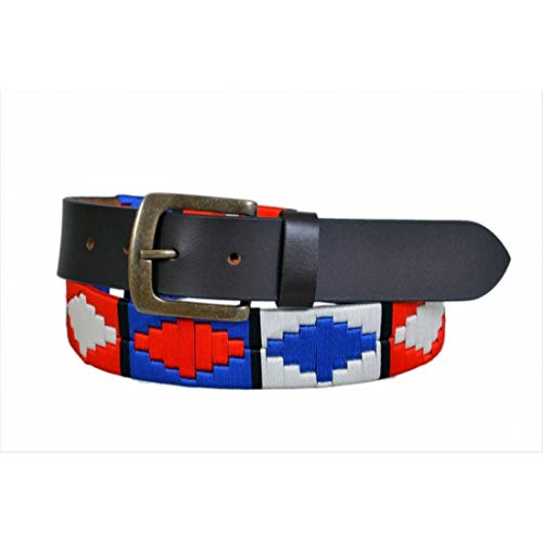 Argentinian Polo Genuine Leather Belt Unisex Harness Gaucho Belt (30 - Gaucho Harness