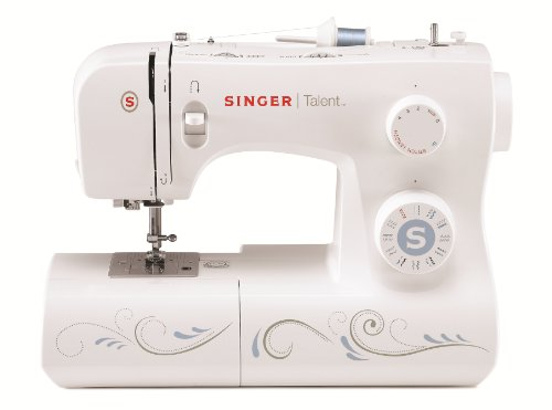 SINGER | Talent 3323S Portable Sewing Machine including 23 Built-In Stitches, Automatic Needle Threader, Top Drop-in Bobbin and Bonus Fashion Accessories