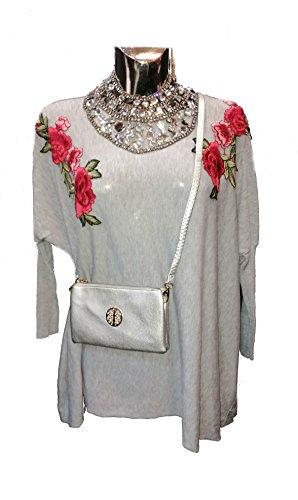 beige Choice Fille femme Fashion Pochettes qPOxydw0