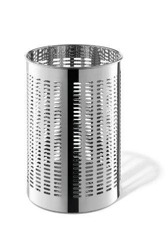 Zack 50534 Proda Round Waste Paper Basket, 14.4-Inch by Zack