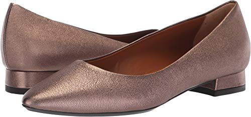 Aquatalia Women's Penina Gold Penina Metallic 5.5 B US B (M)