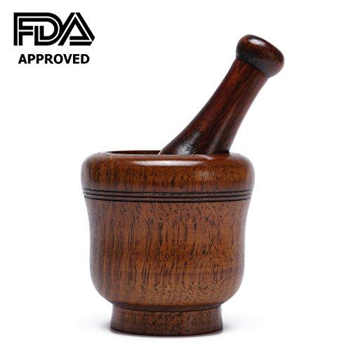 wooden hand grinder - 1